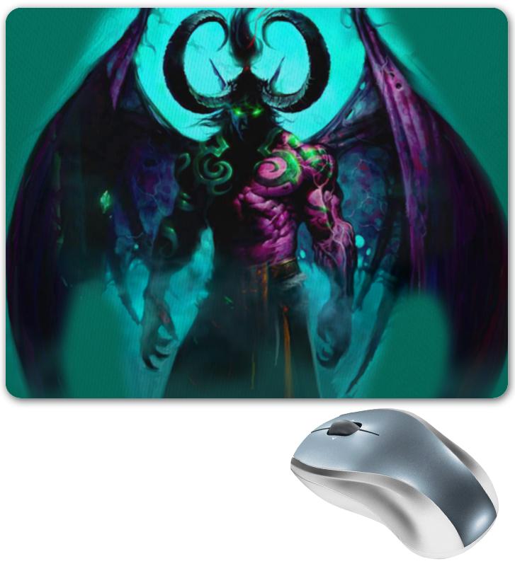 Коврик для мышки Printio Warcraft collection: illidan orly blush collection 490 цвет 490 cheeky