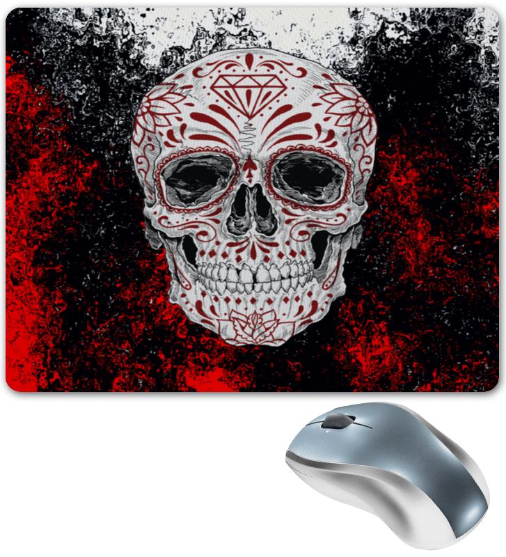 Printio Узоры на черепе коврик для мышки printio роспись на черепе