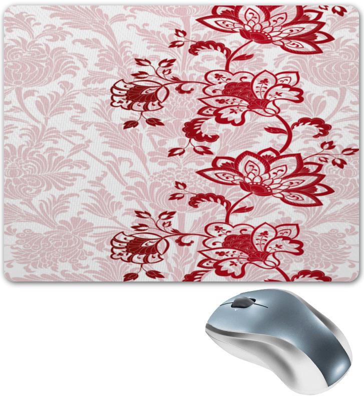Коврик для мышки Printio Красные цветочки коврик для мышки printio красные лепестки