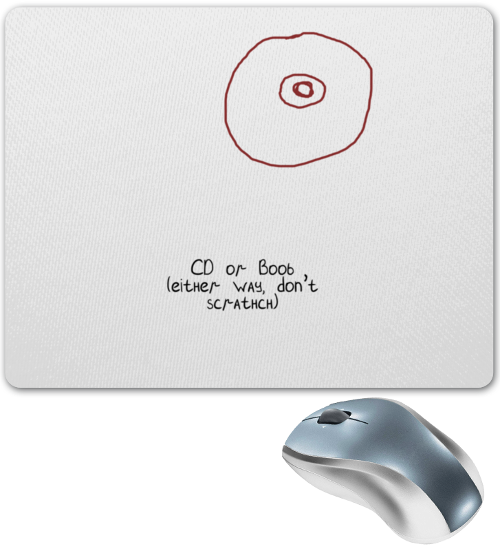 Коврик для мышки Printio Cd или титя аксессуары для автозвука cd airs