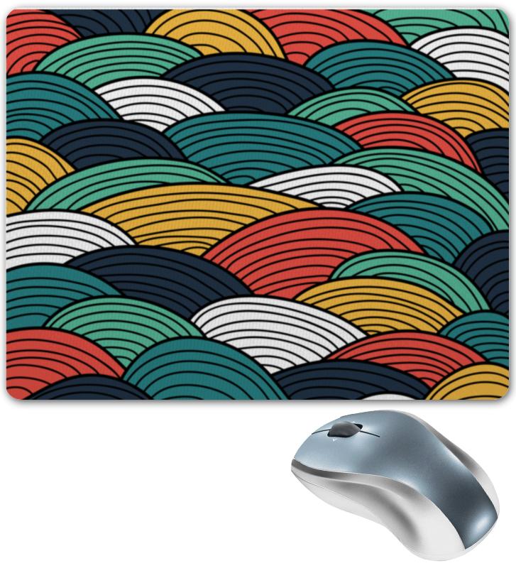 Коврик для мышки Printio Цветные волны