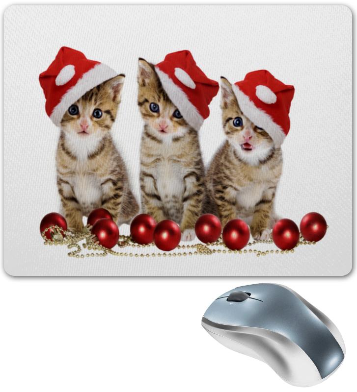 Printio Новогодние котята коврик для мышки круглый printio котята