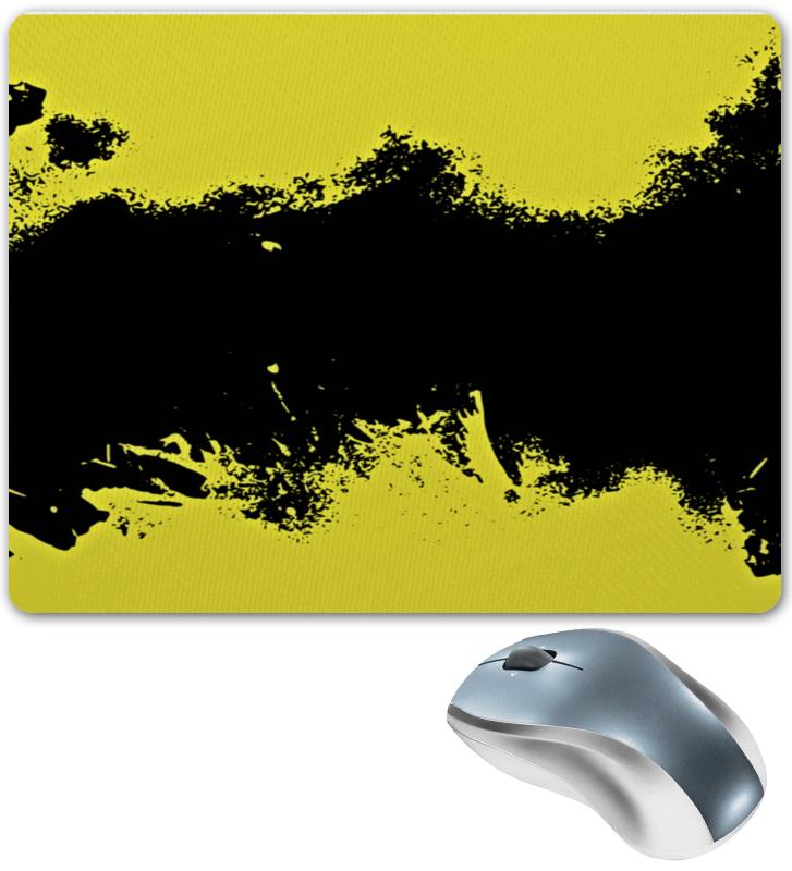 Коврик для мышки Printio Черно-желтые краски