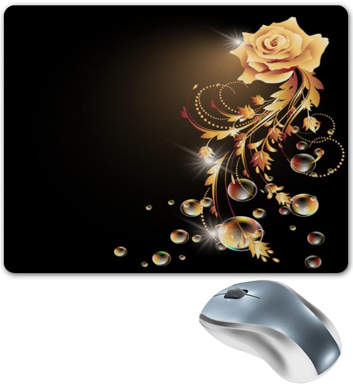 Коврик для мышки Printio Золотая роза золотая семечка масло золотая семечка подсолнечное раф дез 0 5л