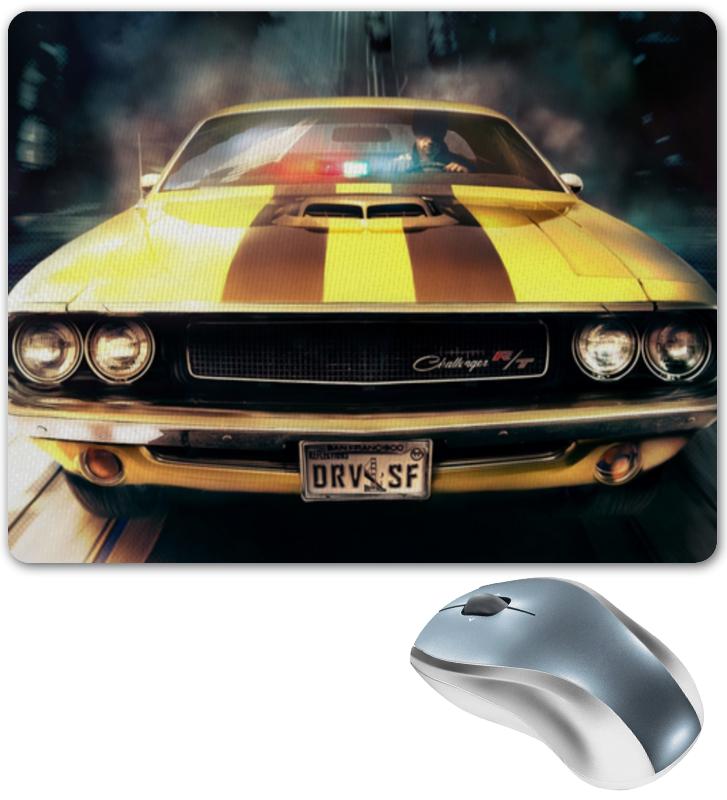 Коврик для мышки Printio Dodge challenger машинки motormax машинка коллекционная 2011 dodge charger r t