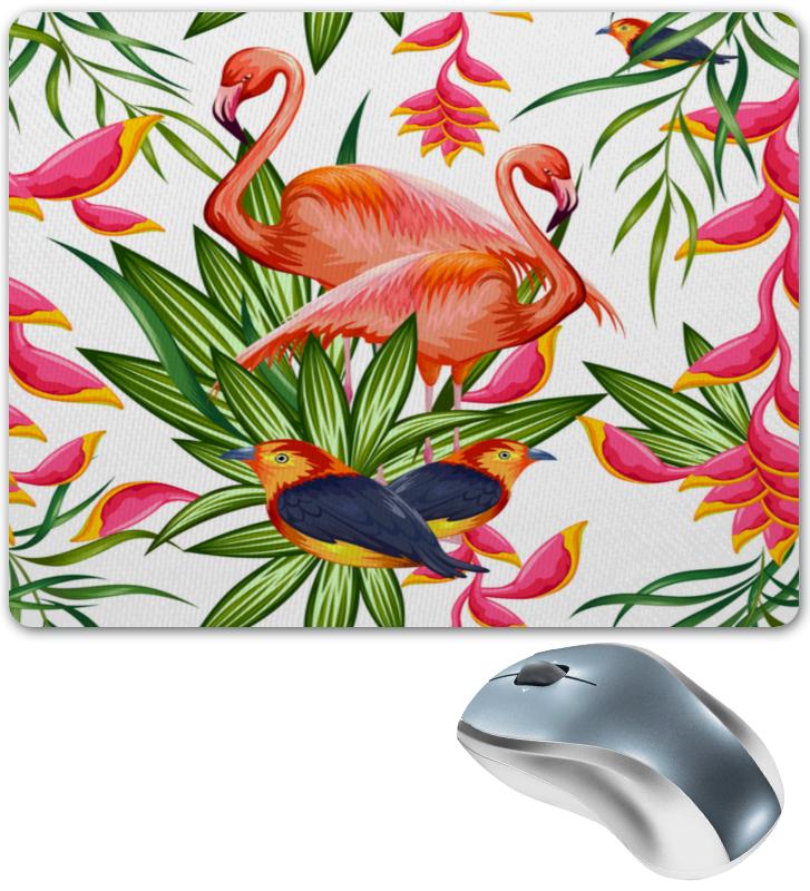 Коврик для мышки Printio Птицы и цветы масленка imari цветы и птицы imb0360 a2210al