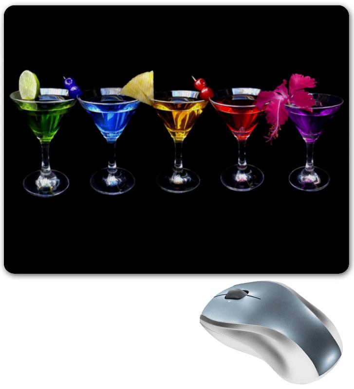 Коврик для мышки Printio Коктейли коктейли яркие моменты праздника