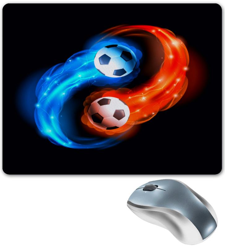 Коврик для мышки Printio Футбольные мячи