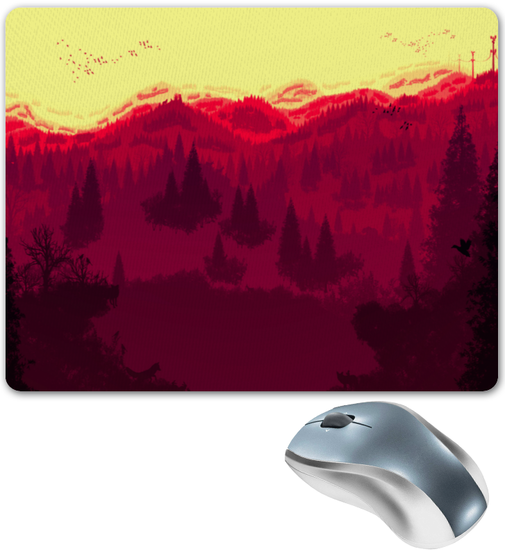 Коврик для мышки Printio Природа леса секреты леса
