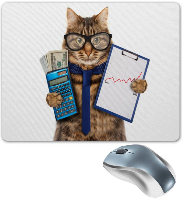 Коврик для мышки Printio Кот босс
