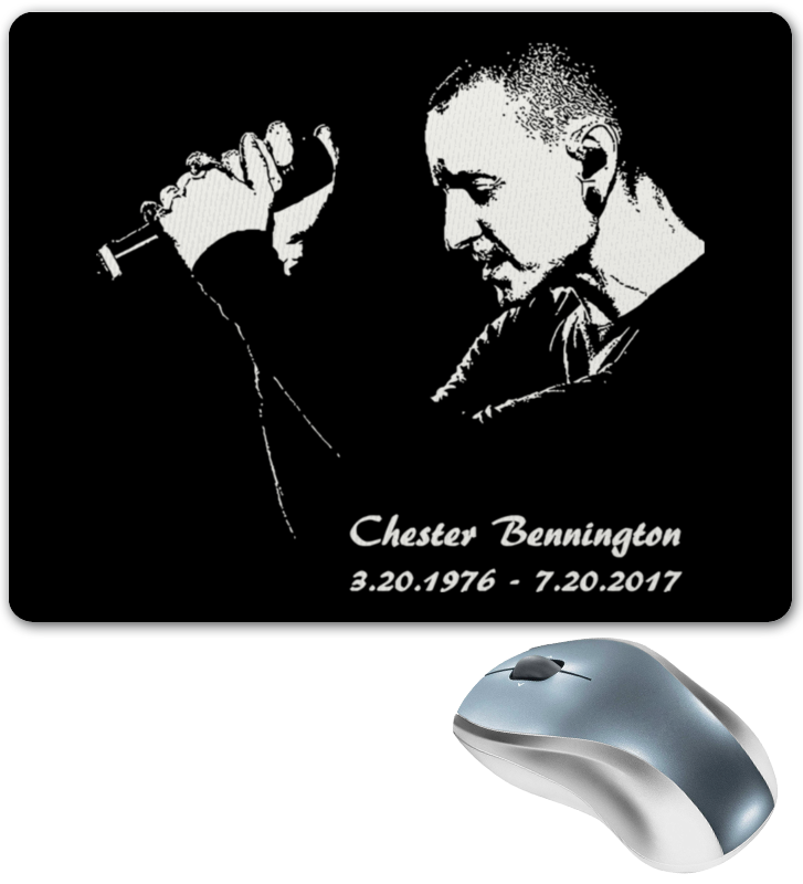 Коврик для мышки Printio Chester - linkin park printhead 5113 for epson print heads unlocked solvent printers