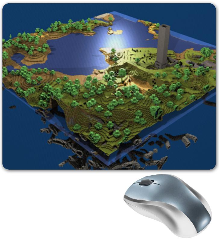купить Коврик для мышки Printio Мир minecraft коврик для мыши по цене 410 рублей