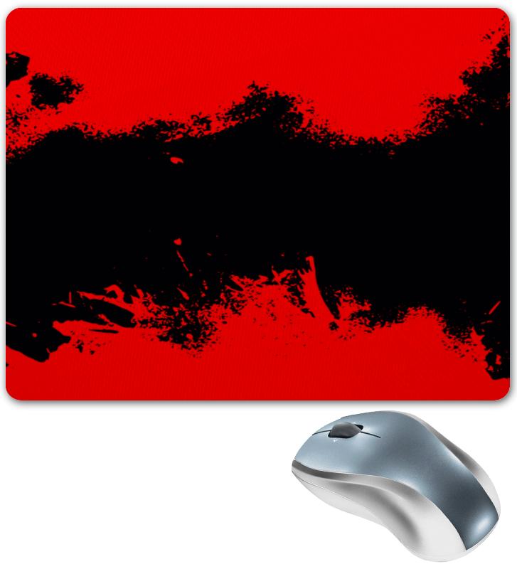 Коврик для мышки Printio Черно-красные краски коврик для мышки круглый printio черно красные краски