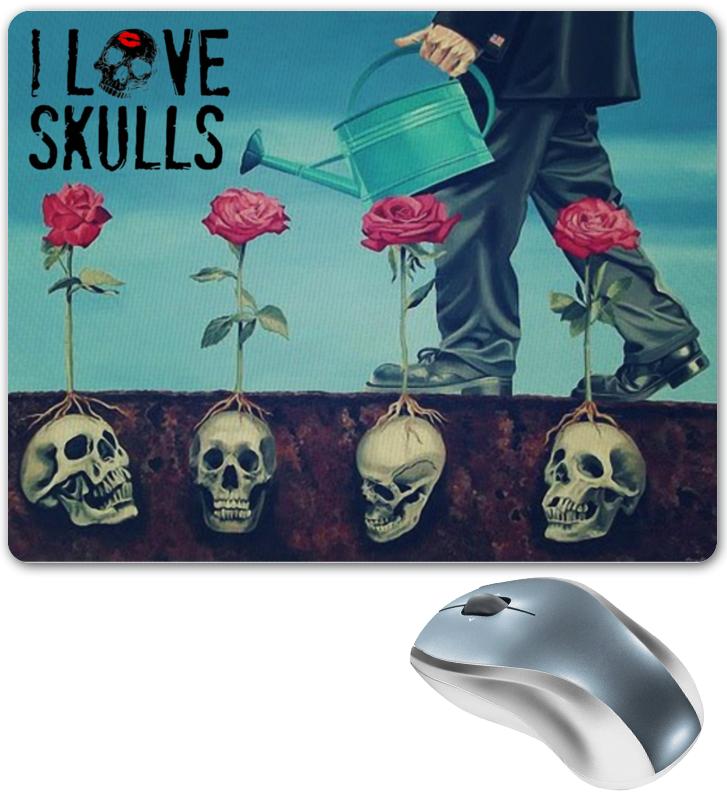 Коврик для мышки Printio Skull art fashion square skull pattern decorative pillowcase without pillow inner
