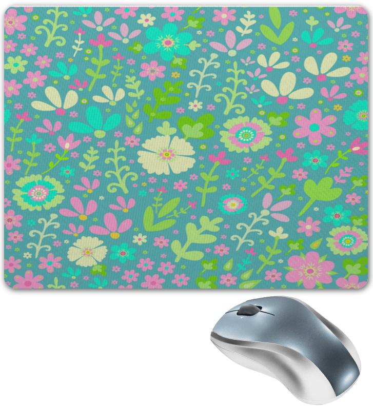 Коврик для мышки Printio Цветочная полянка коврик для мышки printio цветочная цепочка