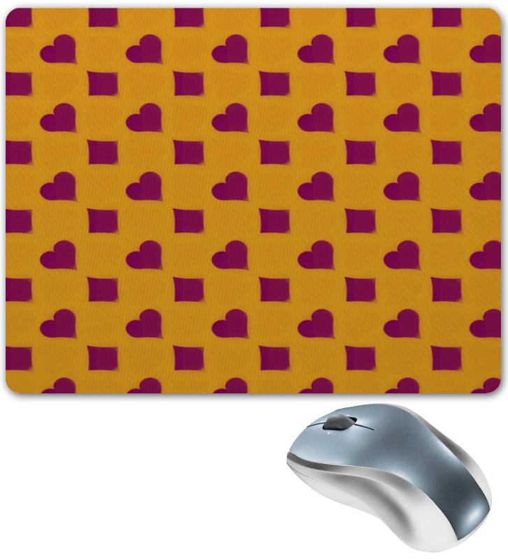 Коврик для мышки Printio Сердца и ромбы