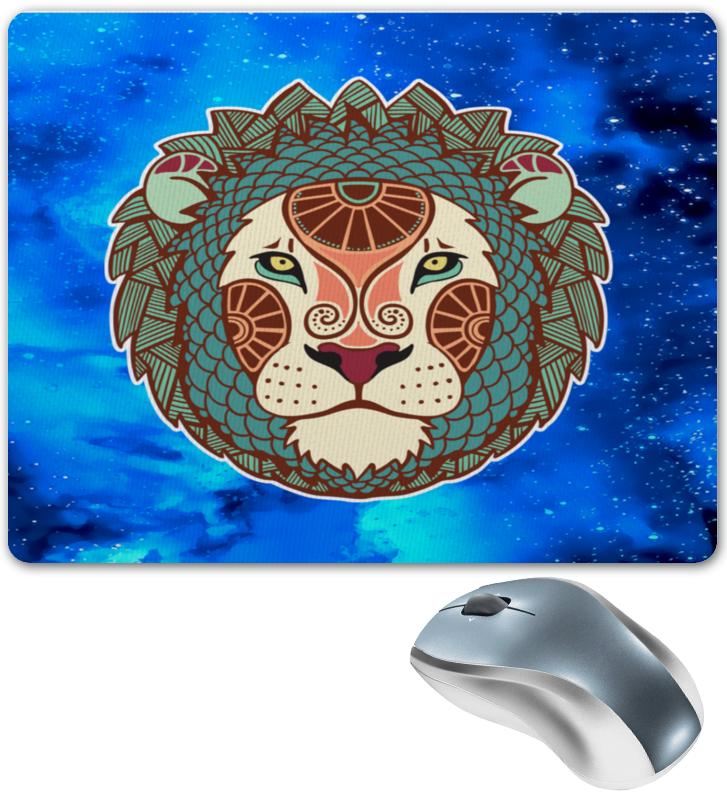 купить Коврик для мышки Printio Зодиак-лев недорого