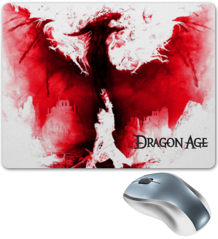 Коврик для мышки Printio Dragon age алтарь dragon antique furniture
