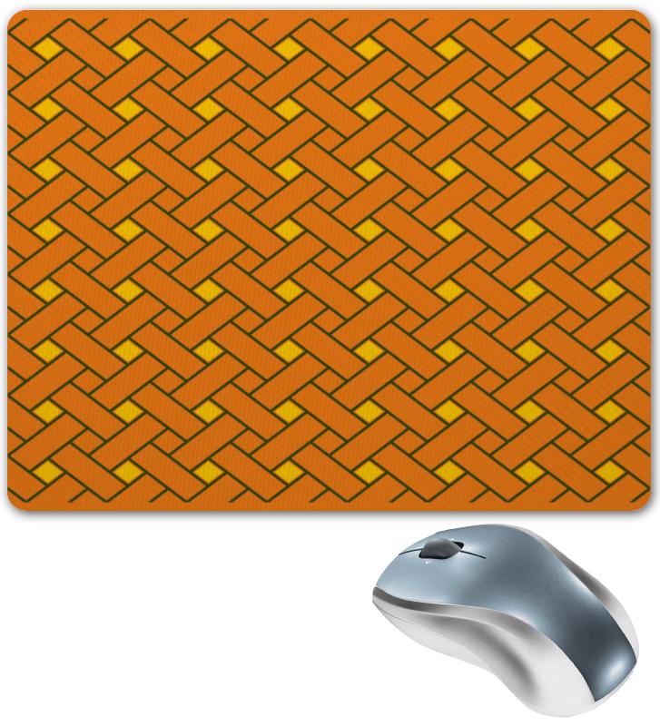 Коврик для мышки Printio Оранжевые линии коврик для мышки printio радужные линии
