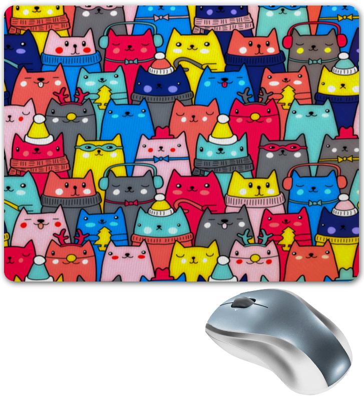 Коврик для мышки Printio Нарядные котики