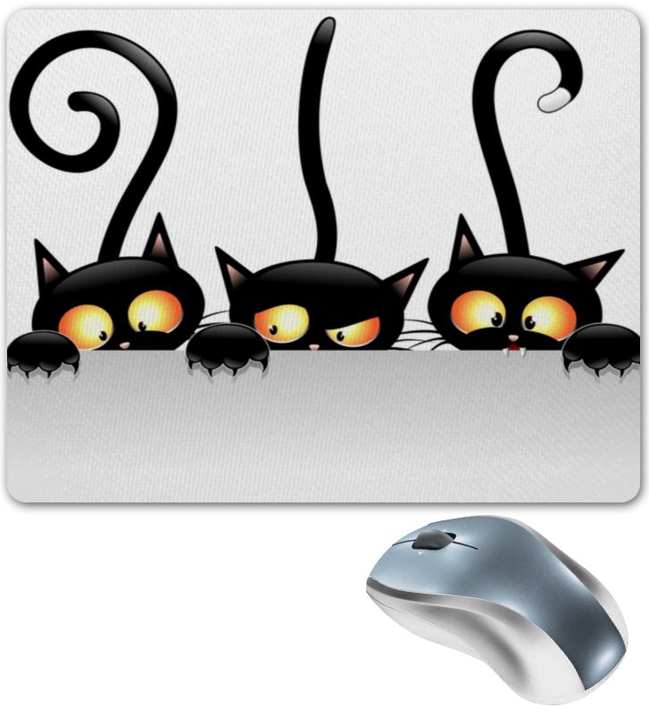 Коврик для мышки Printio Три кота коврик для мышки printio таблица умножения