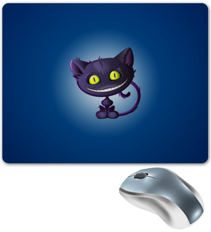 Коврик для мышки Printio Чеширский кот