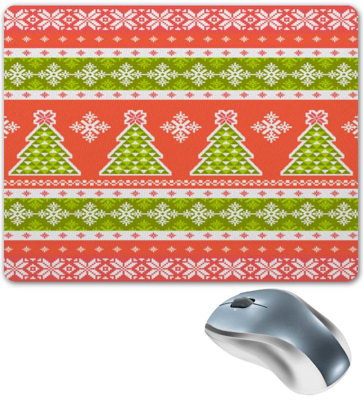 Коврик для мышки Printio Новогодний орнамент юбка карандаш укороченная printio новогодний орнамент
