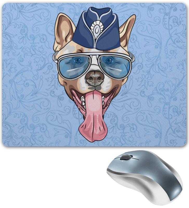 Коврик для мышки Printio Собака очки пилота в москве