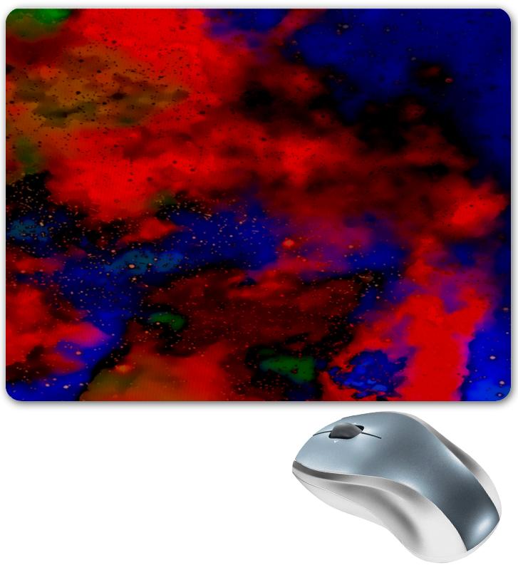 Коврик для мышки Printio Красно-синий узор