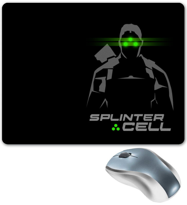 Коврик для мышки Printio Splinter cell basal cell carcinoma
