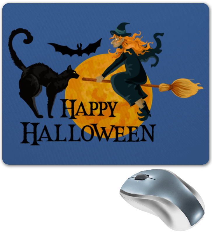 Коврик для мышки Printio Хэллоуин коврик для мышки printio кошки
