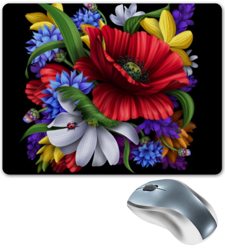 Коврик для мышки Printio Композиция цветов композиция из цветов жду свидания