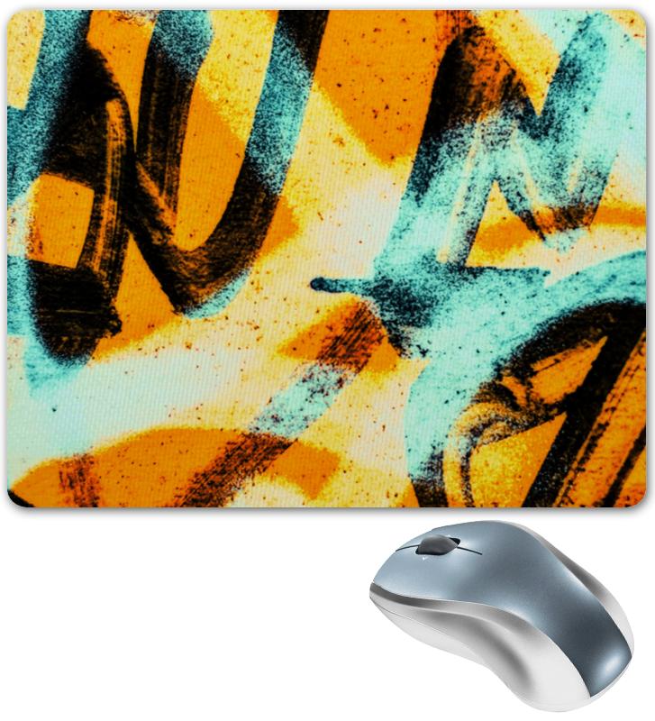 Коврик для мышки Printio Граффити красками цена