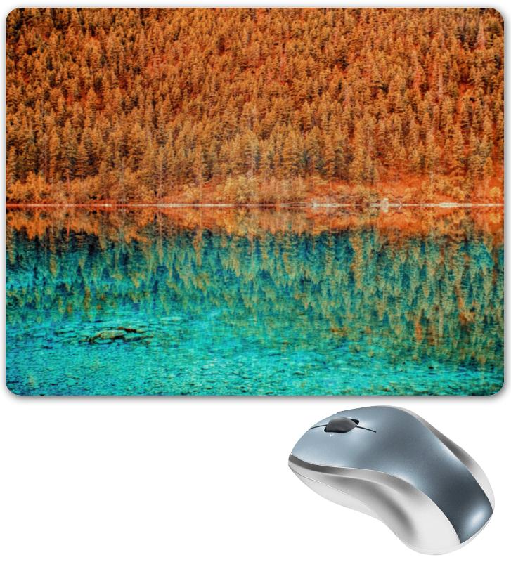 Коврик для мышки Printio Лес и вода коврик для мышки printio winter forest зимний лес