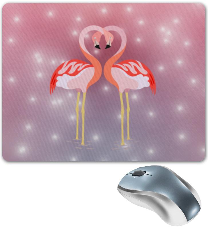 Printio Влюбленные фламинго коврик для мышки сердце printio влюбленные фламинго
