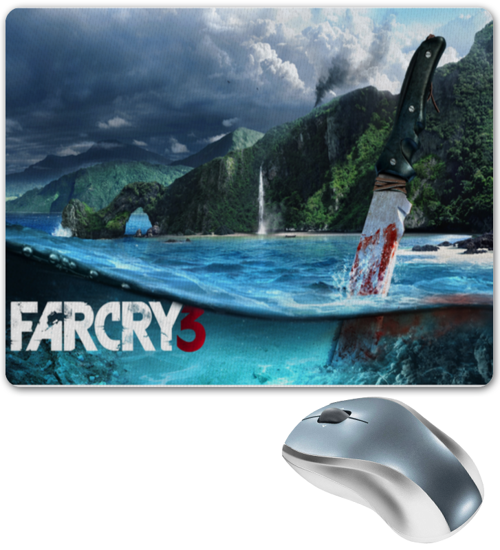 купить Коврик для мышки Printio Far cry 3 коврик для мыши по цене 420 рублей