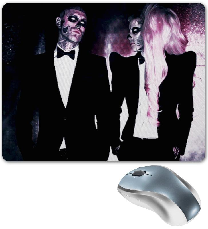 Коврик для мышки Printio Lady gaga & rick janest skillet линза для маски electric eg3 lens fw16 clear o s