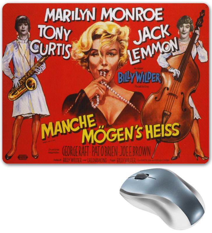 Коврик для мышки Printio Ретро плакат, в джазе только девушки коврик для мышки printio девушки роботы
