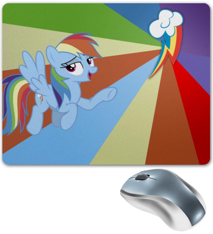 Коврик для мышки Printio Rainbow dash color line