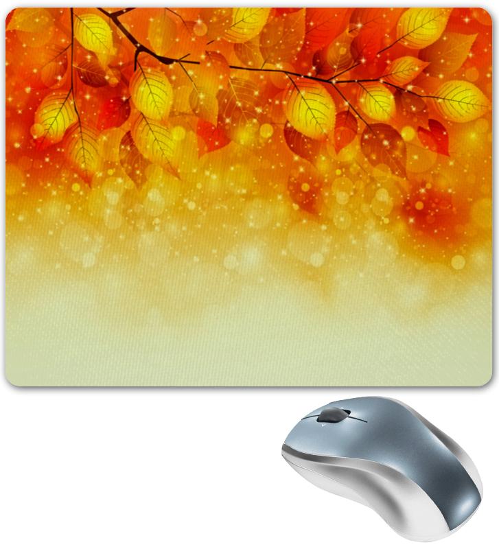 Коврик для мышки Printio Осенние листья платья для девочек