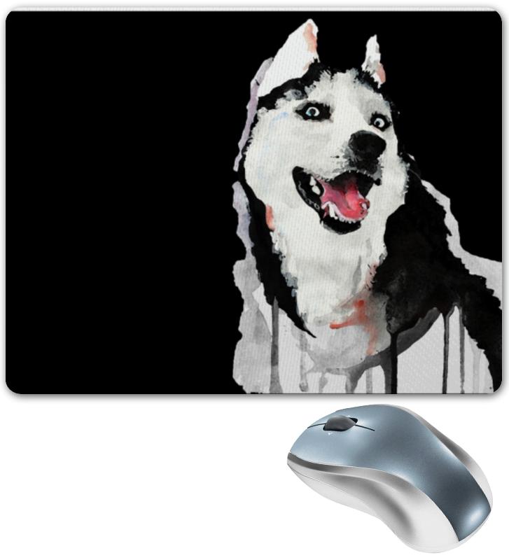 Коврик для мышки Printio Хаски dog