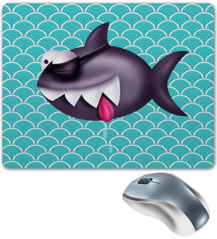 Printio Акула коврик для мышки круглый printio акула