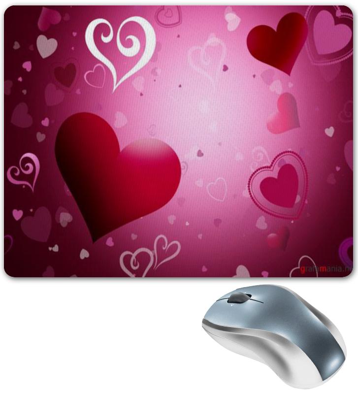 Коврик для мышки Printio Hearts