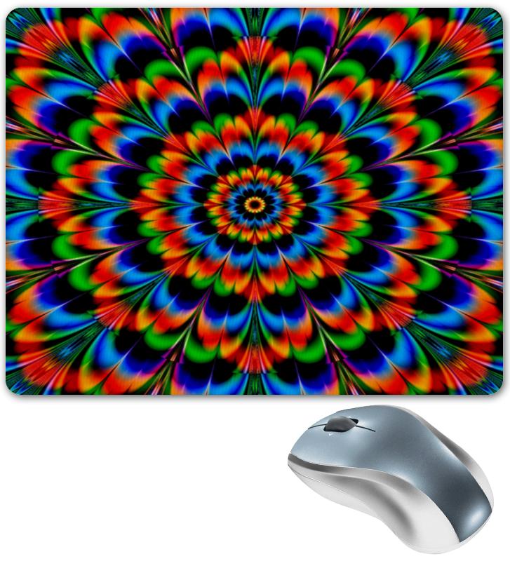 коврик для мышки printio абстрактный Printio Абстрактный цветок