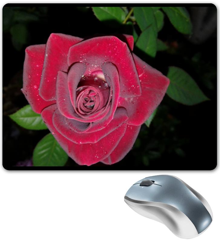 Коврик для мышки Printio Алая роза цена и фото
