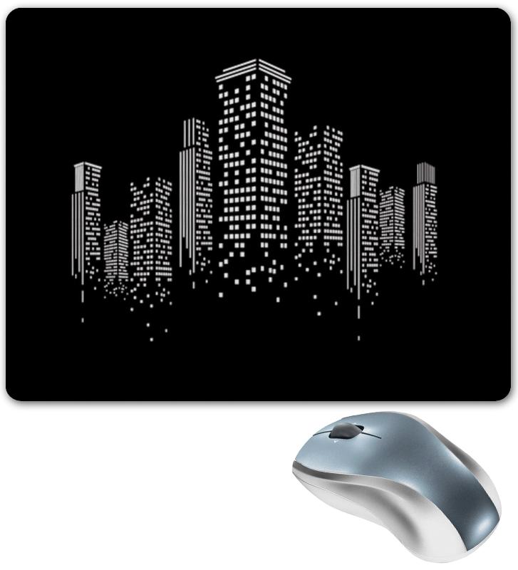 Коврик для мышки Printio Огни ночного города. для дня города