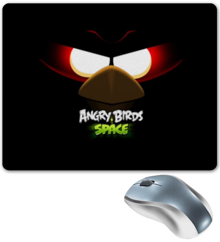 Коврик для мышки Printio Space (angry birds) new us keyboard for dell for inspiron 13 7000 7347 7348 7347 7352 7353 7359 laptop keyboard with backlit no frame