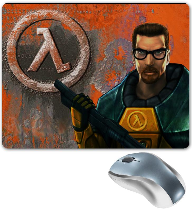 Коврик для мышки Printio Half-life коврик для мыши рука съемные браслеты коврик для мыши его подушка клавиатура браслеты рука подушка запястье площадку браслеты коврик для мыши