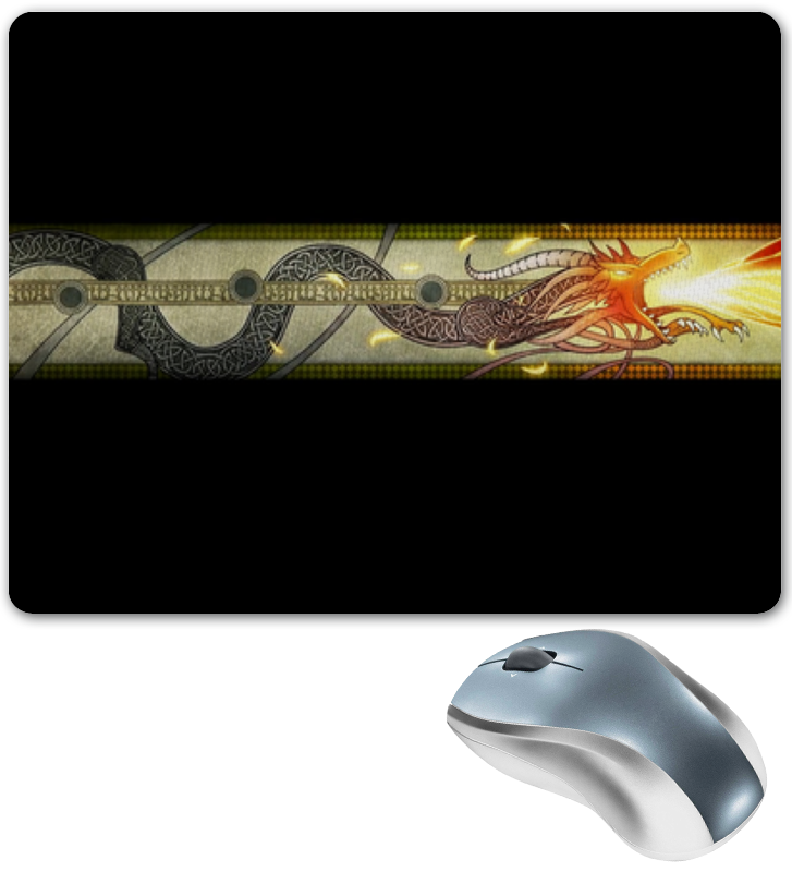 Коврик для мышки Printio Dragon lore тетрадь на скрепке printio dragon lore