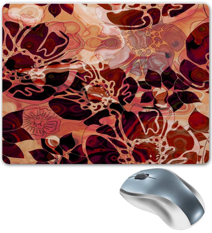 Коврик для мышки Printio Красные лепестки коврик для мышки круглый printio девушка и лепестки